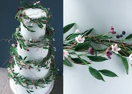 Wildflower Wedding Cake By Cakes UK