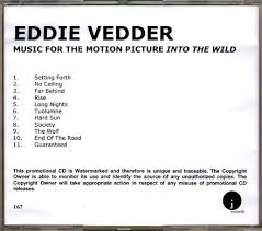 eddie vedder into the wild 5 cd r jewelcase www