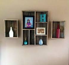 Recycled Pallet Wall Shelf Ideas