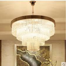wohnzimmer kristall kronleuchter moderne minimalistische mode restaurant runden kristall le designer neue kunst kronleuchter led len