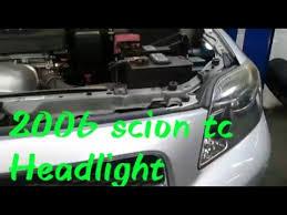 2006 scion tc headlight replacement