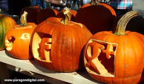 Keene Pumpkin Festival 2014 by Social Media Icon Pumpkins At The Keene Pumpkin Festival Carved