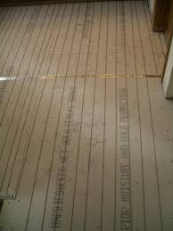 how to install suntouch warmwire in floor heating part 1