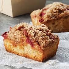 Panera Pumpkin Muffin Ingredients by Strawberry Rhubarb Cake Muffins Recipe Strawberry Rhubarb Cake