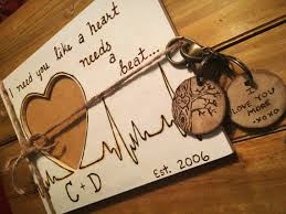 Couples Gift Set Personalized Wood Burned Frame Matching Keychain For Girlfriend Present Heart Custom From DesignCAB On