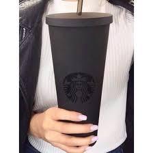 Home Accessory Starbucks Coffee Mug Travel Matte Holiday Gift Black