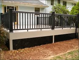 buy black lattice deck skirting google search home ideas