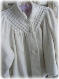 Chenille Bed Jacket by Lori Lynn U0027s Cottage