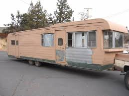Describe By Owner 1956 Anderson 35 Ft Vintage Trailer This Is An Awesome And Rare Find Yours To Remodel Fit Your Needs