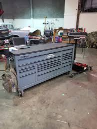 100 Snap On Truck Tool Box Storm Grey Snapon Box With Snap On Tool Cart For The Tall Ass