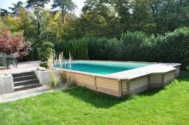 votre piscine semi enterrée 30 idées créatives