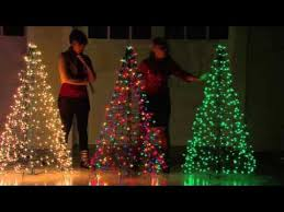 Home Depot Ge Pre Lit Christmas Trees by Pre Lit Christmas Tree Youtube