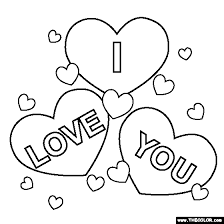 I Love You Coloring Pages For Teenagers Printable 02 More