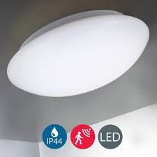 led deckenleuchte bewegungssensor inkl 15 watt led platine 1 500 lumen neutralweiß innen außen beleuchtung badezimmer ip44 b k licht