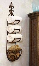 Aldabella Wrought Iron Toilet Paper Stand Bath Accessories