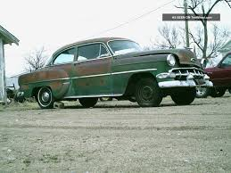 1954 Chevy 210, 2 Door, Title, Engine And Transmission