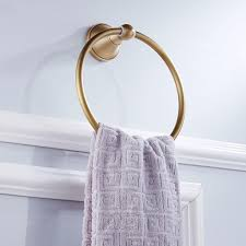 antik rund handtuchhalter handtuchring badezimmer zubehör
