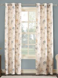 Heat Insulating Curtain Liner by Lila Insulated Print Grommet Curtain Panel Curtain U0026 Bath Outlet