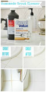 How To Properly Clean Bathroom by Best 25 Cleaning Bathroom Grout Ideas On Pinterest Clean Shower