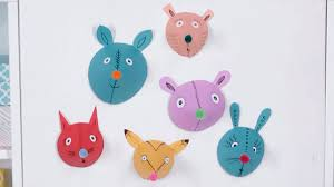 Kid Craft Cute Paper Animal Heads