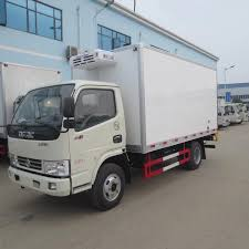 100 Freezer Truck New 3 Ton Small Cooling Van Refrigerated For Sale