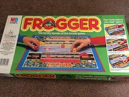 Vintage Frogger Board Game By Mb Games C1980s Complete Vgc