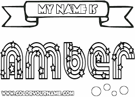 Unique Name Coloring Pages 31 On Print With