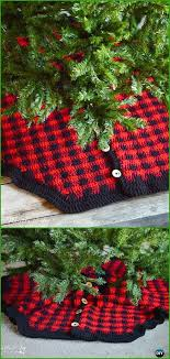 Plaid Christmas Tree Skirt Canada