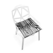 Amazoncom PLAO Seat Cushion Pad Zebra Painting Cushions Nonslip