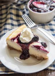 Blueberry Cheesecake This blueberry cheesecake starts with a buttery graham cracker crust a creamy