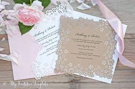 Diy Laser Cut Wedding Invitations With Creativity Attraktiv Perfectly Design Interesting 2