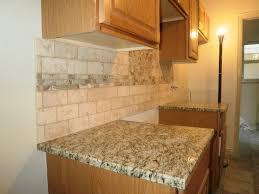 stylish travertine tile backsplash travertine tile backsplash