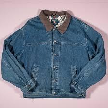 vintage ralph lauren chaps denim jacket l retrograde clothing