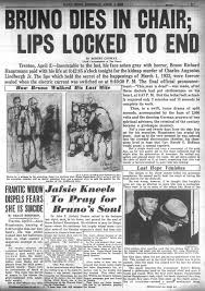 Electric Chair Executions New York State by Lindbergh Baby Kidnapper Dies By Electric Chair In 1936 Ny Daily