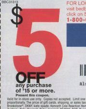Bed Bath & Beyond Department Store Coupons
