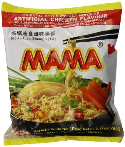 Mama Chicken Soup Instant Noodle - 3.17oz, 20pk