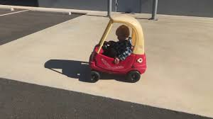 100 Little Tikes Classic Pickup Truck Electric Motor Converted Cozy Coupe