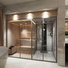 sauna mit dusche optirelax hotfit 2