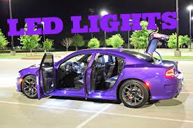 2016 dodge charger pack exterior interior lights diode