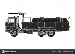 Black Fire Engine White Background — Stock Vector © Alya_DC #177494846