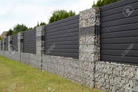 100 Gabion House A Modern Form Of House Fencing S Steel Galvanized Nets