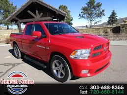 Used 2012 RAM 1500 For Sale In Castle Rock, CO 80109 Central Autos