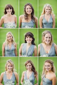 Bohemian Rustic Country Chic Wedding Bridesmaids Grey Green Dresses Lifelinephotography