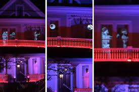 Halloween Ghost Projector by Garden District Home Has Spookiest Halloween Display Yet Curbed
