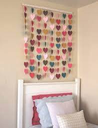 Heart Paper Wall Hanging