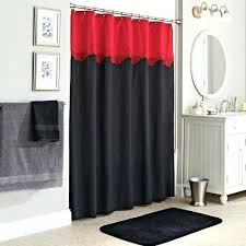 Amazon Red Kitchen Curtains by Black And Red Curtains U2013 Teawing Co