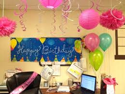 fice Birthday Decoration Ideas 50th Best Decorations Cubicle