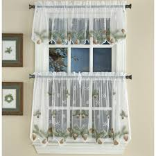 Checkered Flag Window Curtains by Kitchen Curtains Tier Curtains Altmeyer U0027s Bedbathhome