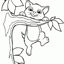 Printable 30 Cute Cat Coloring Pages 4733