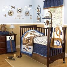 Airplane Crib Bedding Sets For Baby Boys beautiful Aviator Crib